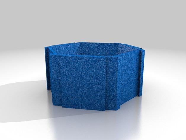 五边形机器人架 3D模型  图6