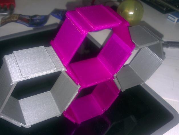 五边形机器人架 3D模型  图7