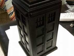 组合式塔迪斯笔筒 3D模型