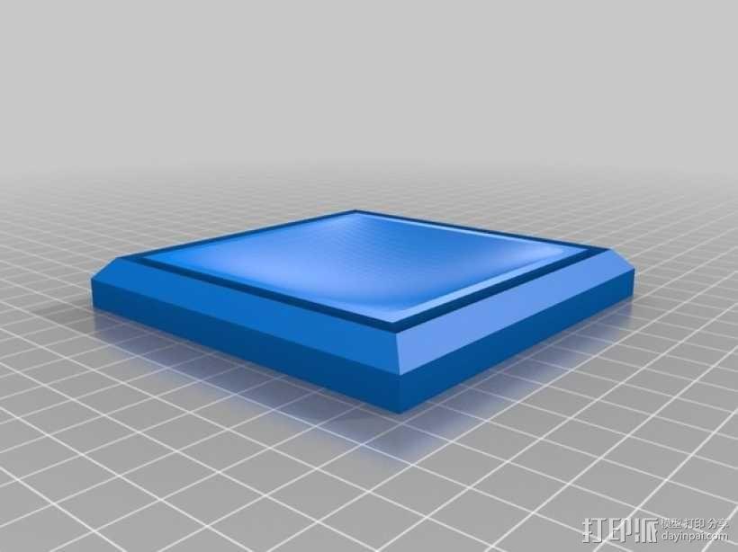 组合式塔迪斯笔筒 3D模型  图2
