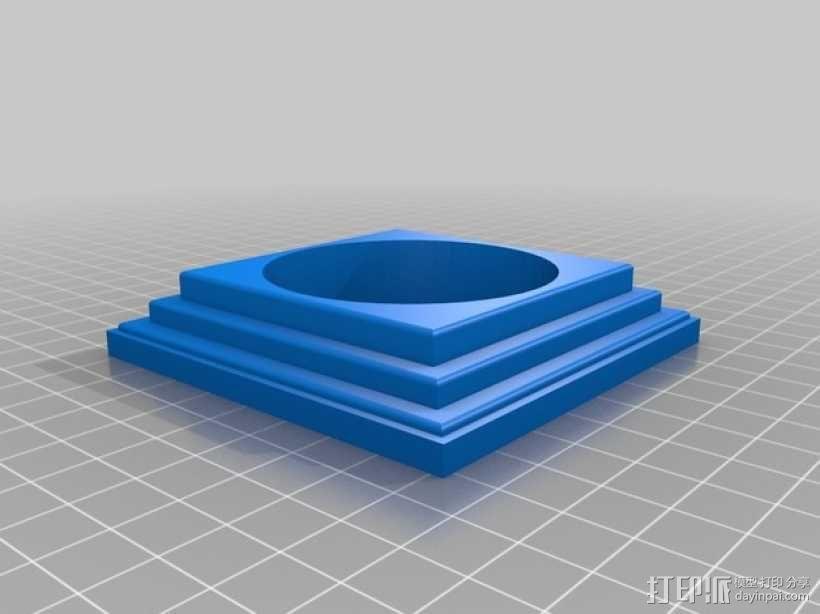 组合式塔迪斯笔筒 3D模型  图5