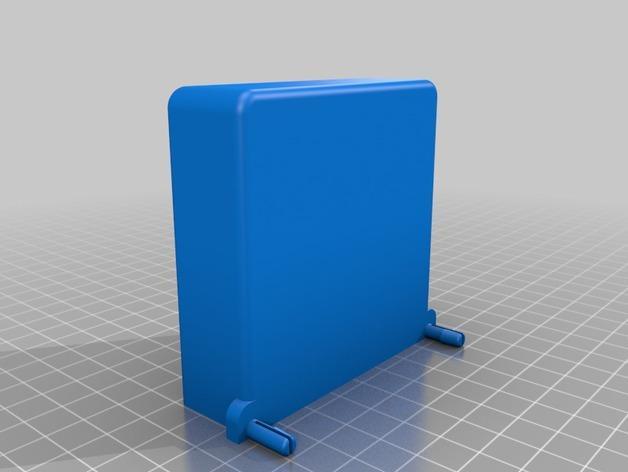壁挂式笔筒 3D模型  图2