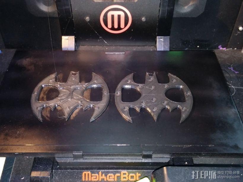 蝙蝠形开瓶器 3D模型  图2