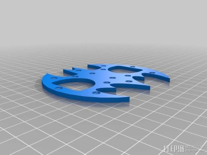 蝙蝠形开瓶器 3D模型  图5