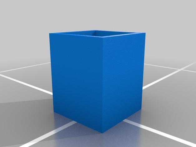 米奇笔筒/桌面规整架 3D模型  图2