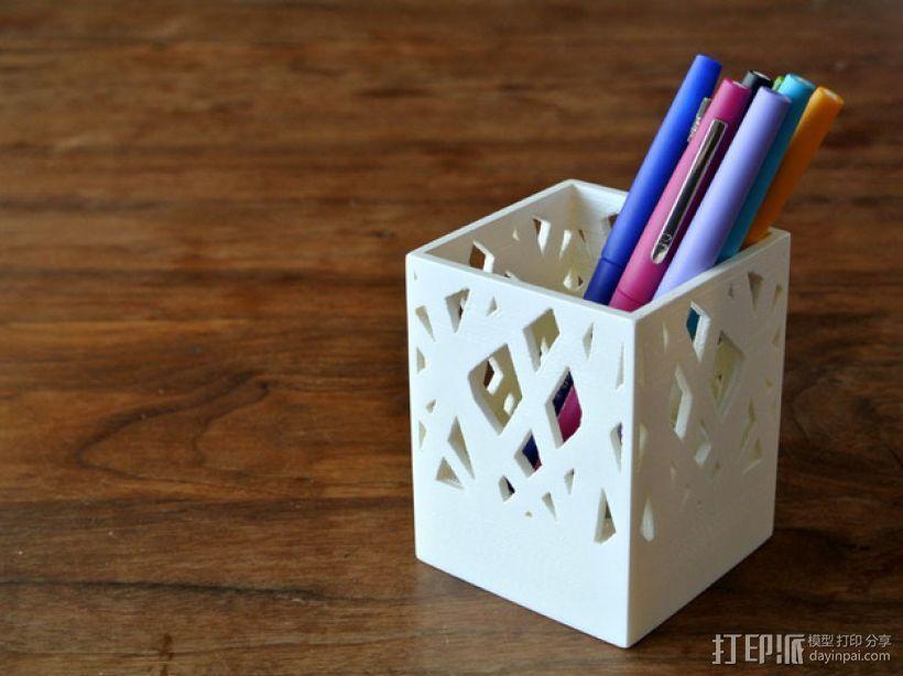 笔筒/烛台 3D模型  图1