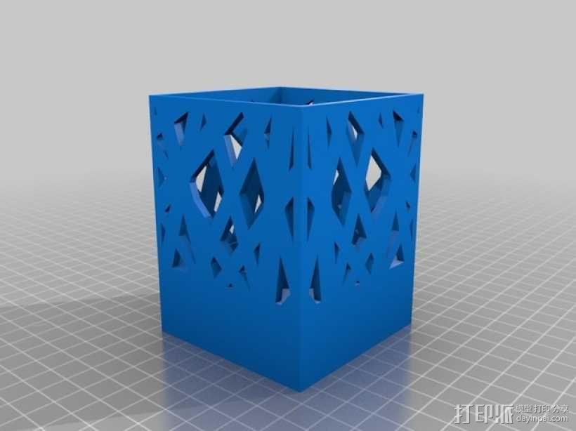 笔筒/烛台 3D模型  图4
