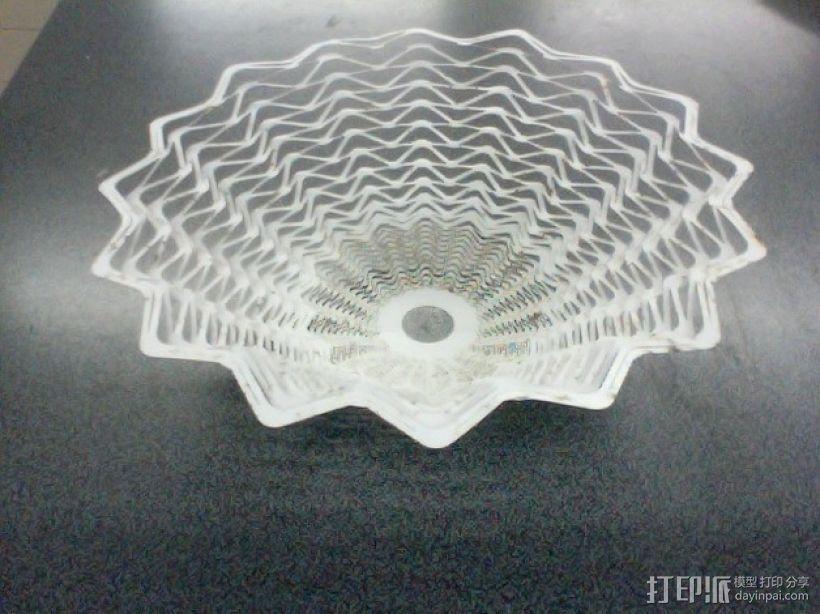 A3纸制作而成的灯罩 3D模型  图7