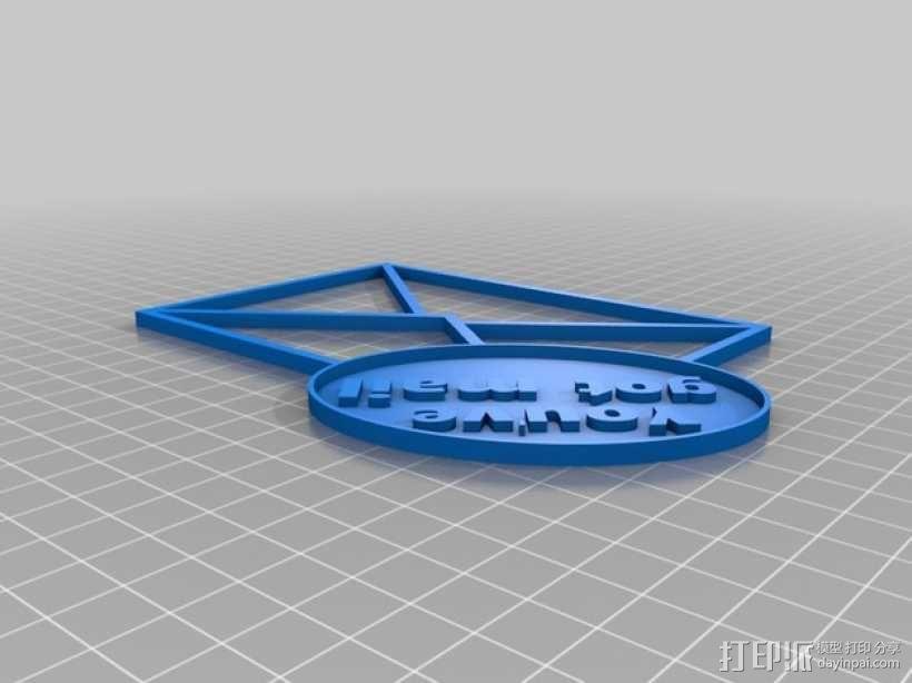 邮件/信封夹 3D模型  图4