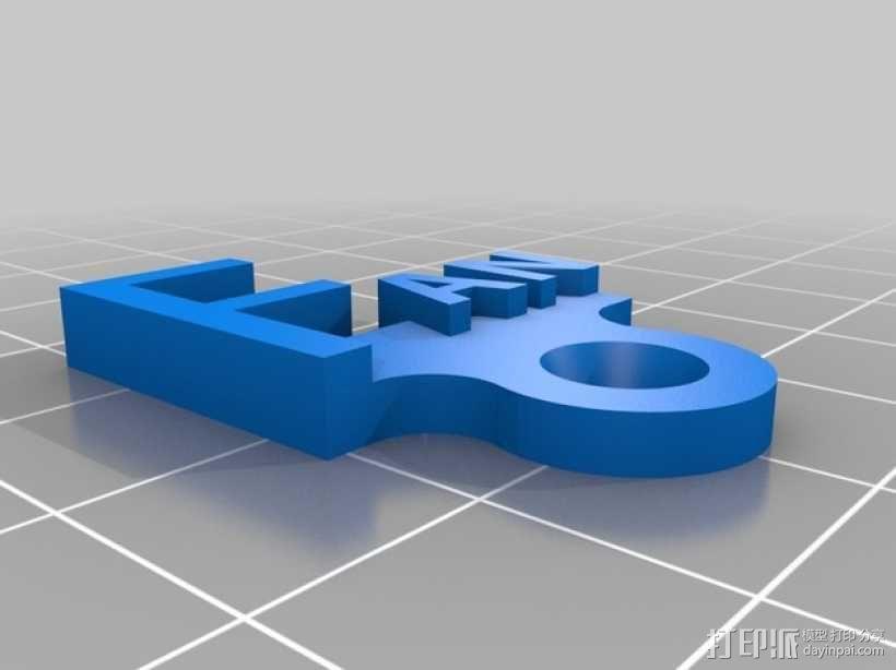 开关板标记 3D模型  图7