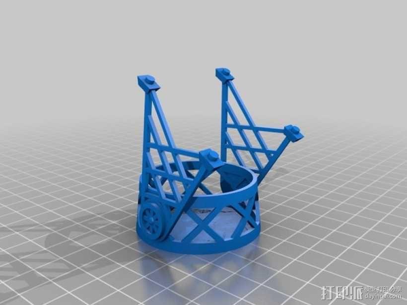 磁力雀巢咖啡胶囊(K-Cup)支架 3D模型  图4
