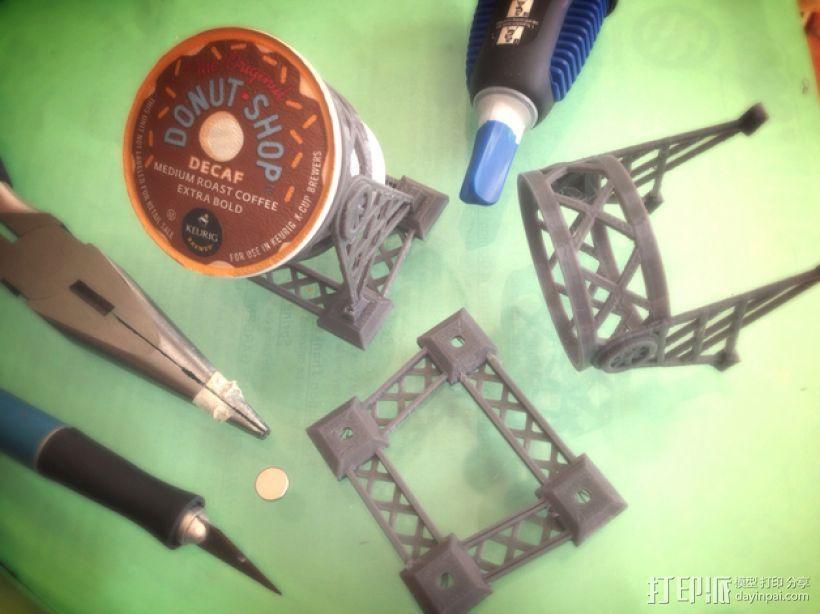磁力雀巢咖啡胶囊(K-Cup)支架 3D模型  图3