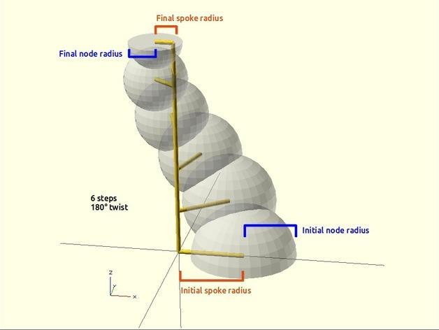 定制化螺旋形花瓶 3D模型  图5