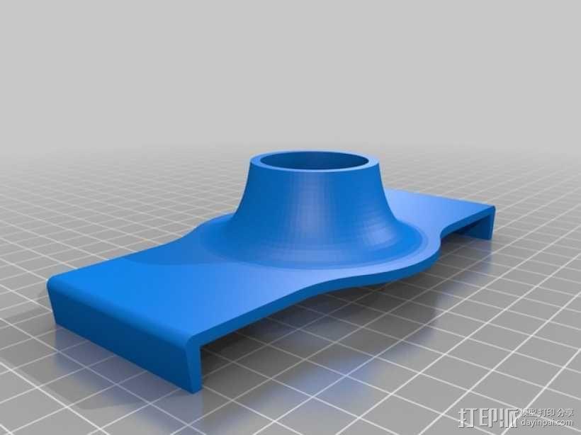 纸巾架 3D模型  图4