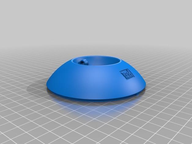 球形宠物饲料盆 3D模型  图6