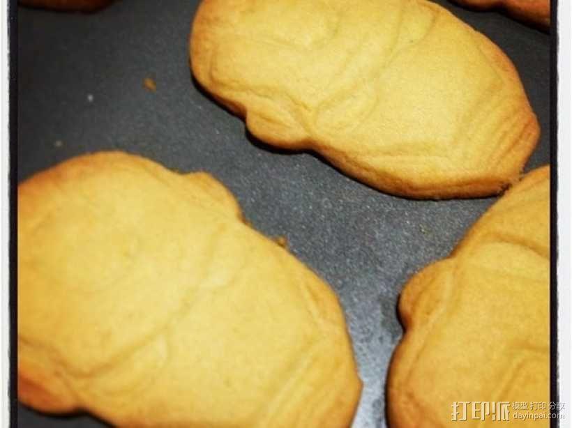 钢铁侠饼干模具切割刀 3D模型  图7