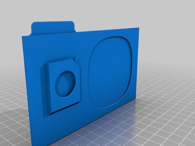 SD卡盒 3D模型  图4