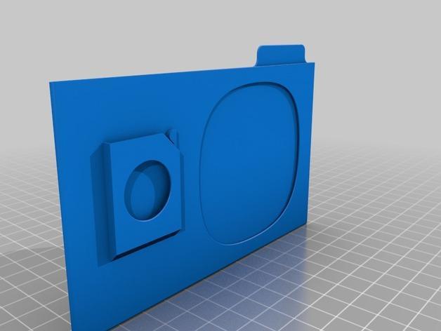 SD卡盒 3D模型  图5