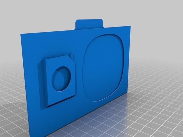 SD卡盒 3D模型  图6