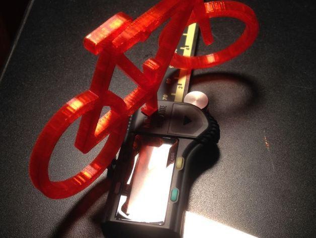 自行车形装饰品 3D模型  图3