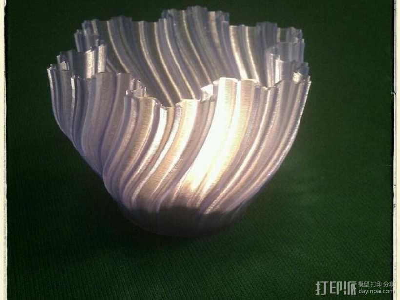 Koch茶蜡架子 3D模型  图4