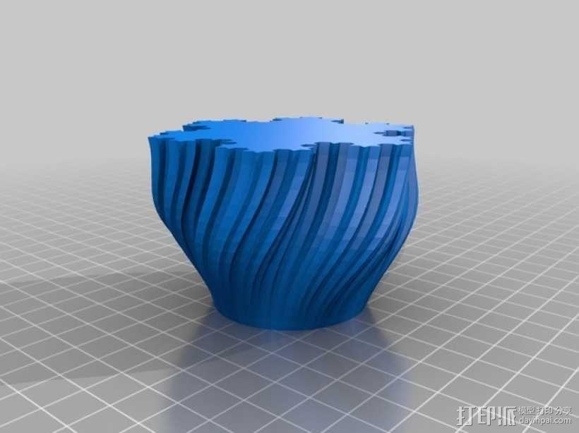Koch茶蜡架子 3D模型  图5