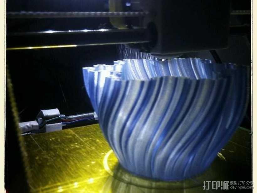 Koch茶蜡架子 3D模型  图6