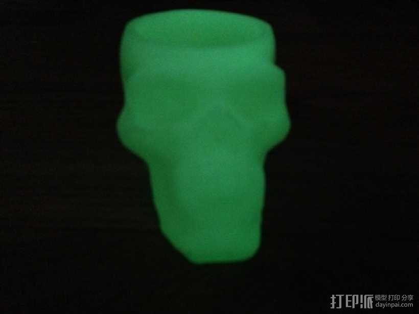 骷髅头形茶蜡支架 3D模型  图8