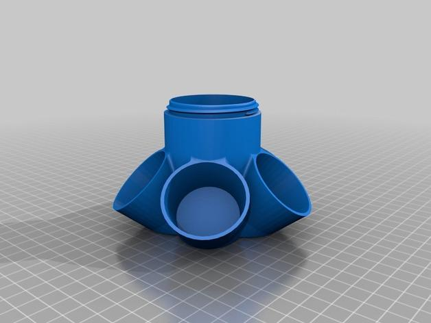 模块化Kuerig杯架 3D模型  图5
