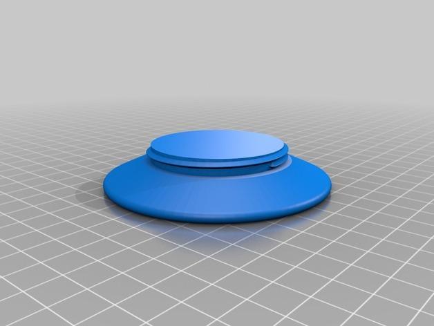 模块化Kuerig杯架 3D模型  图4