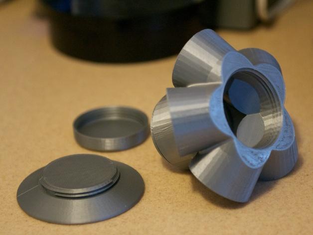 模块化Kuerig杯架 3D模型  图9