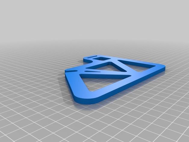 胶带分割器 3D模型  图3