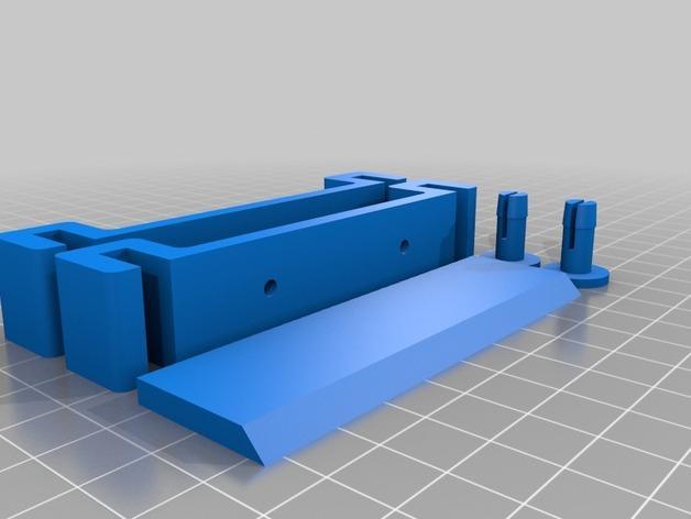 胶带分割器 3D模型  图5