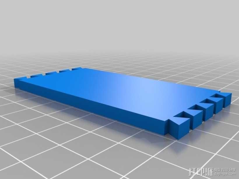 迷你长方形小盒 3D模型  图4