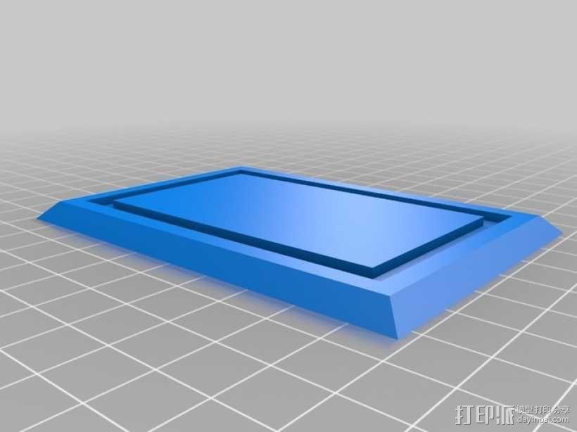 迷你长方形小盒 3D模型  图2
