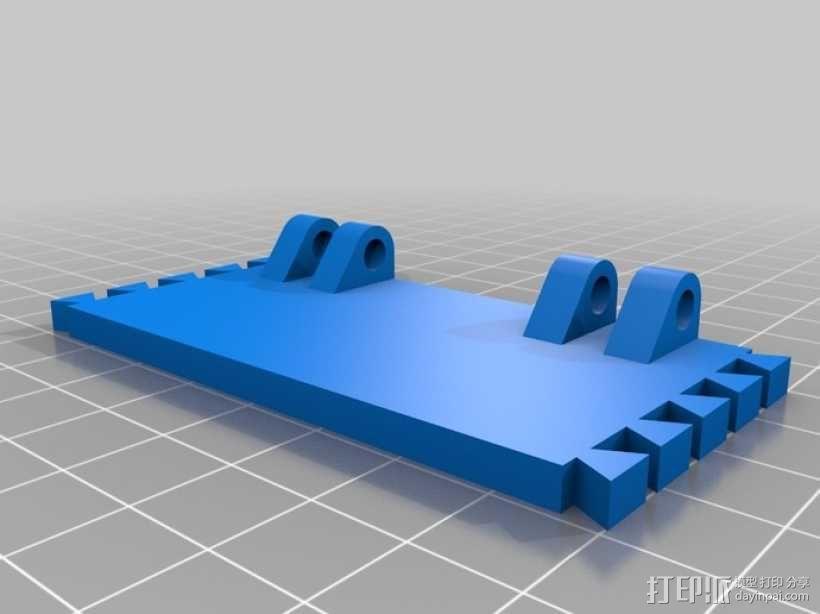迷你长方形小盒 3D模型  图3