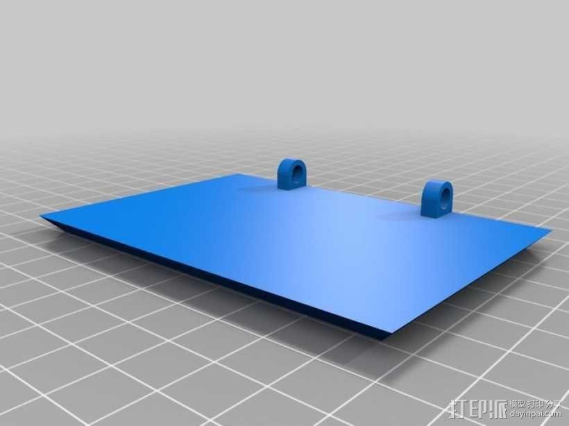 迷你长方形小盒 3D模型  图6