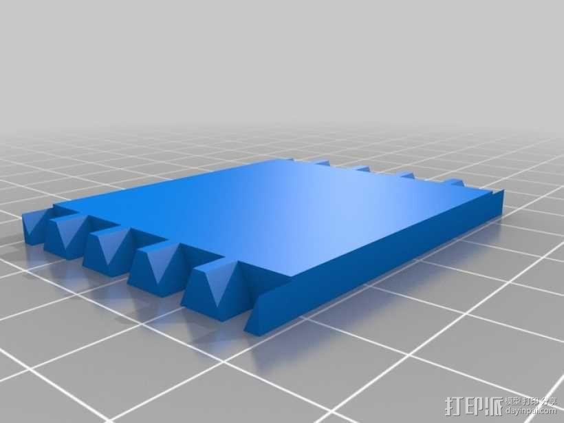 迷你长方形小盒 3D模型  图5