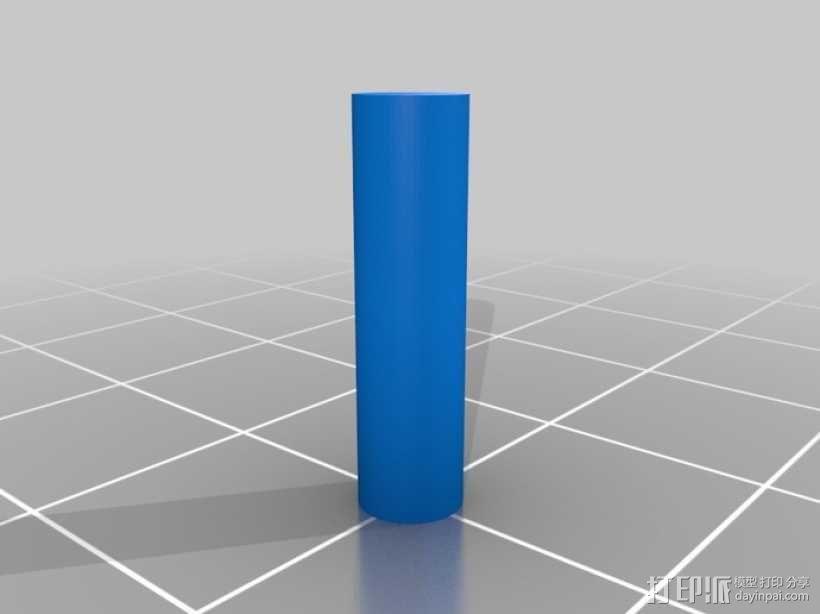 迷你长方形小盒 3D模型  图7