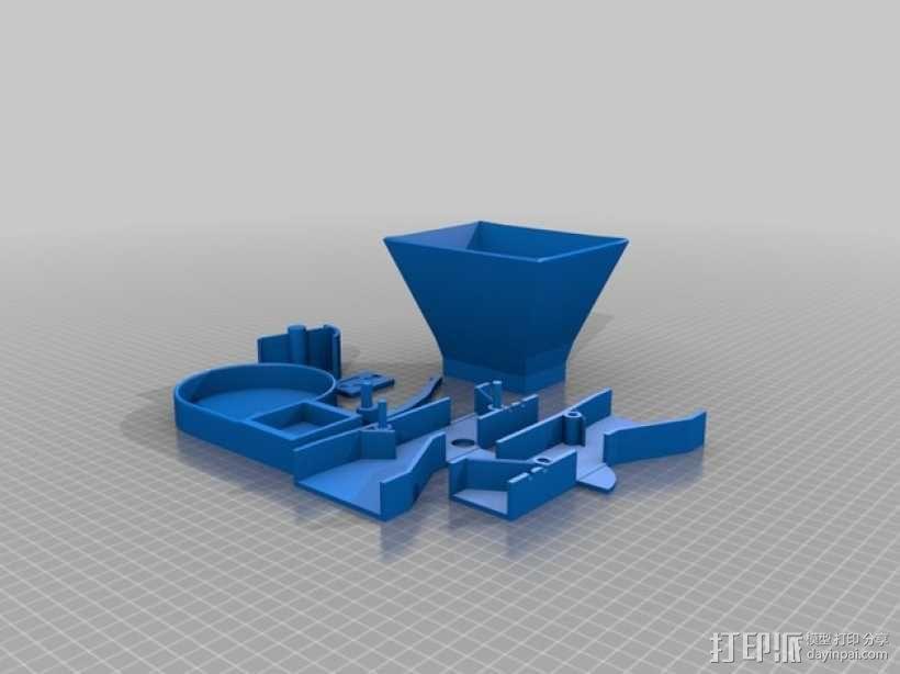 自动化宠物喂食机 3D模型  图9
