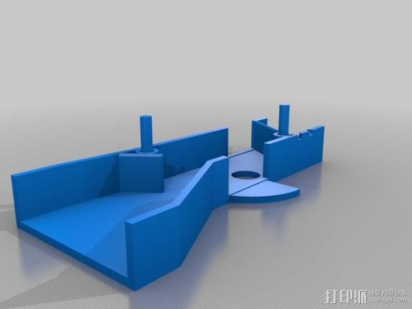 自动化宠物喂食机 3D模型  图8