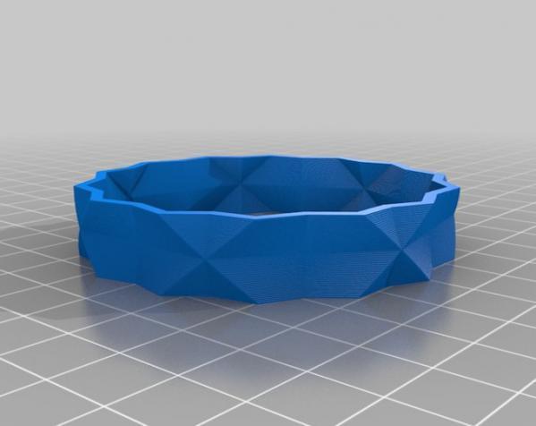 多边形花瓶/茶杯/手镯 3D模型  图2