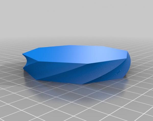 多边形花瓶/茶杯/手镯 3D模型  图3