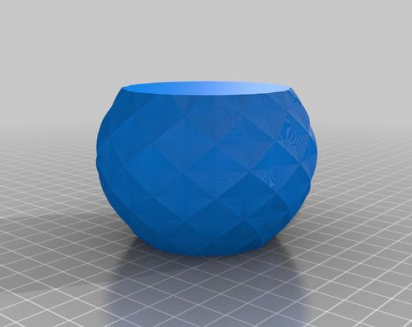 多边形花瓶/茶杯/手镯 3D模型  图4