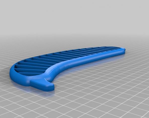 香蕉切片机 3D模型  图1