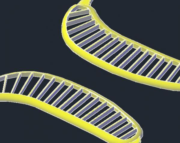 香蕉切片机 3D模型  图3