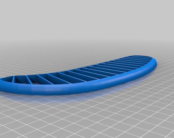 香蕉切片机 3D模型  图2