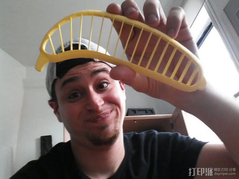 香蕉切片机 3D模型  图5