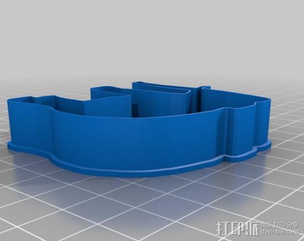 创造性的饼干模具切割刀 3D模型  图10