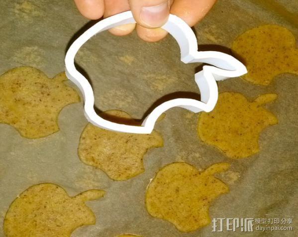 创造性的饼干模具切割刀 3D模型  图9